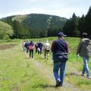 春の山野草ハイキングとそば打ち体験